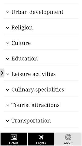 android Barcelona Hotels and Flights Screenshot 5