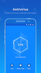 Mobile Antivirus App - Pro Screenshot