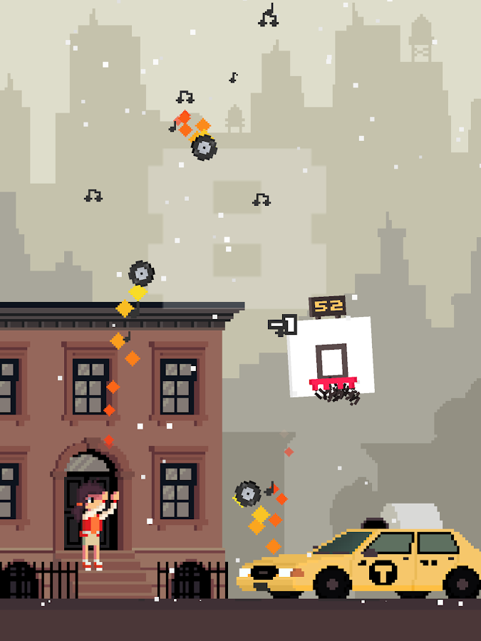 Ball King - Arcade Basketball- screenshot