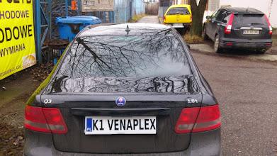 Photo: Saab 93 przyciemnianie szyb kraków tył folia średniociemna przednie boczne folia jasna zapraszamy na www.venaplex.pl