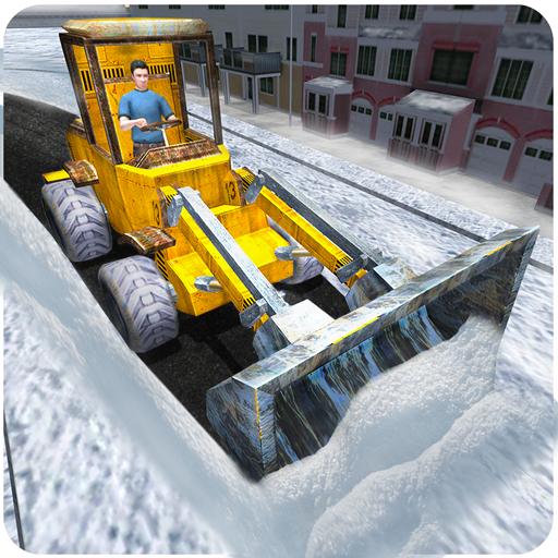 スノーレスキューショベルクレーン3D 模擬 LOGO-玩APPs