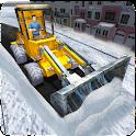 Snow Rescue Excavator Crane 3D icon