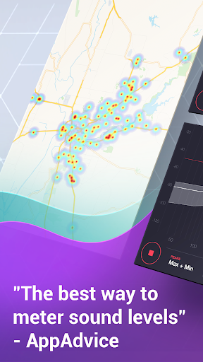 dB Meter - measure sound & noise level in Decibel  screenshots 4