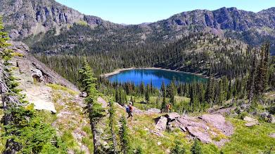 Photo: Down to Pyramid Lake