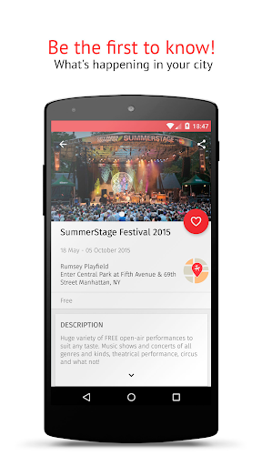 KudaGo - things to do in NY for Android apk 2