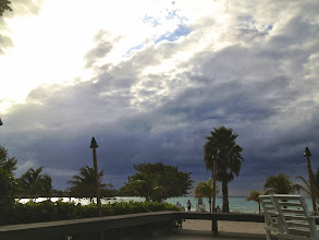 Photo: Look how beautiful the water is even when the sky is grey.