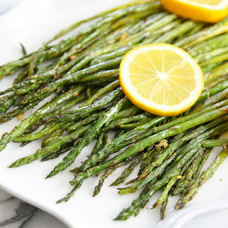 Lemon Garlic Roasted Asparagus.