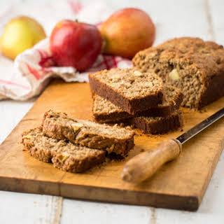 Apple Oatmeal Quick Bread.