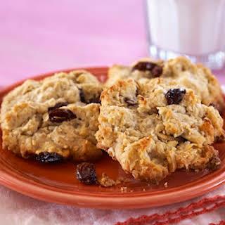 Tofu Oatmeal Rasin Cookies.