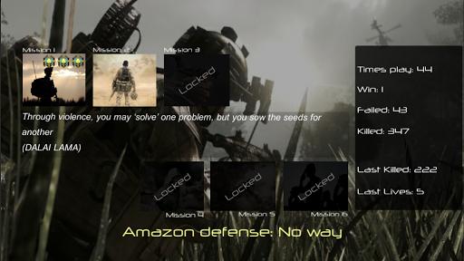 Amazon defense: No way