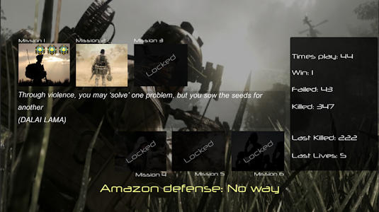 Amazon defense: No way v1 (Mod Money)