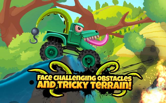 Monster Trucks Action Race screenshot