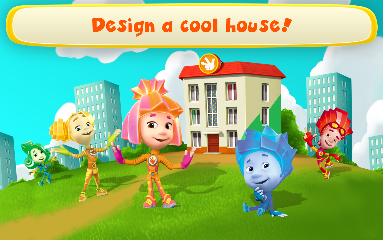 Fiksiki Dream House Games & Home Design for Kids- screenshot