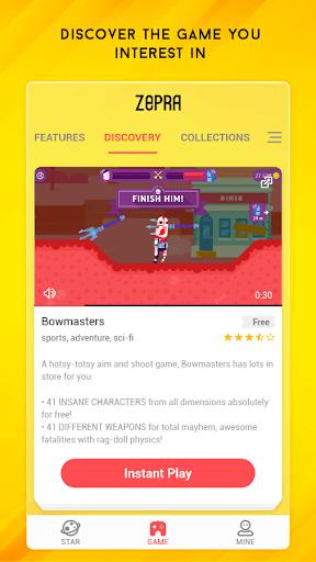 Zepra - Cloud Gaming Lounge 1.1.5.9 screenshots 5