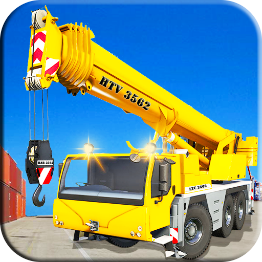 Heavy Cargo Ship Manual Crane Operator Fun Sim 3D