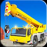 Heavy Cargo Ship Manual Crane Operator Fun Sim 3D icon