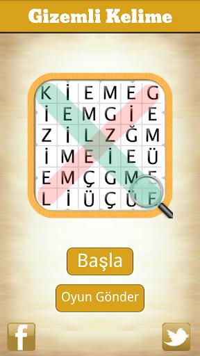 Gizemli Kelime - Kelime Oyunu screenshot 4