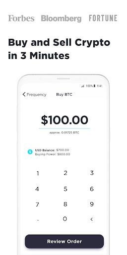 Gemini: Buy Bitcoin Instantly screenshot 2