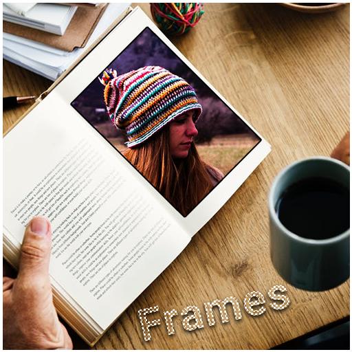 Book Photo Frame Editor