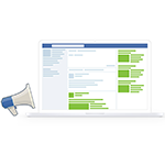 visibilité avec la publicité facebook