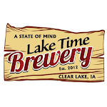 Logo for Lake Time Brewery