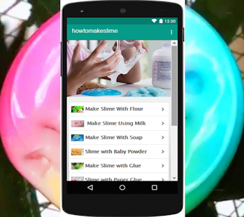 How to make slime tutorial apps on google play screenshot image ccuart Images