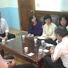 國際商務系拜訪開明工商陳旺火校長
