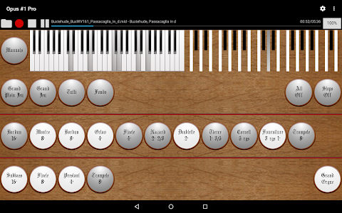 Opus #1 Pro - The Midi Organ screenshot 4