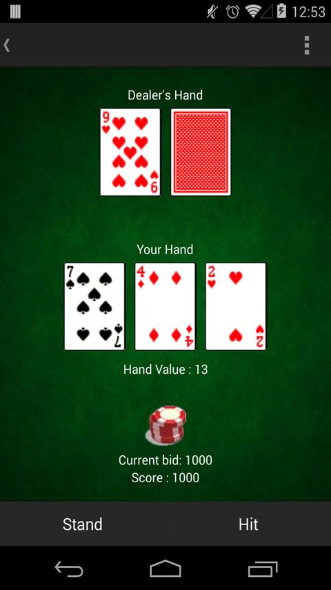 blackjack game - google search