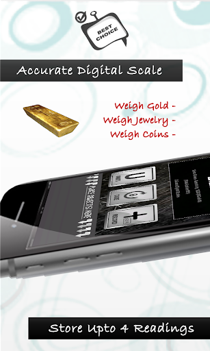 3 Grams Digital Scales app with Weight Converter screenshots 2