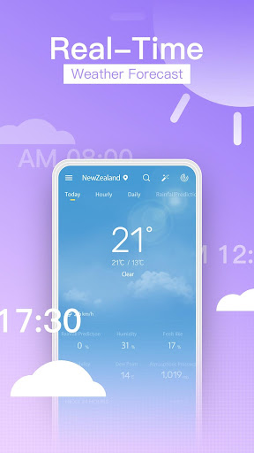 ProWeather-Daily Weather Forecasts,Realtime Report screenshot 1