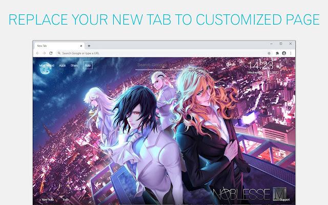 Noblesse Wallpaper Anime NewTab freeaddon.com