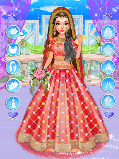 Fashion Wedding Dress Up Designer: Girls Games  screenshots 4