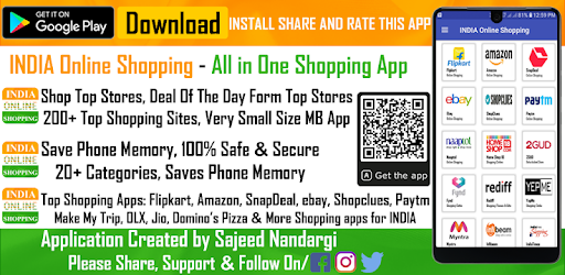 INDIA Online Shopping - All in One Shopping App - Apps on