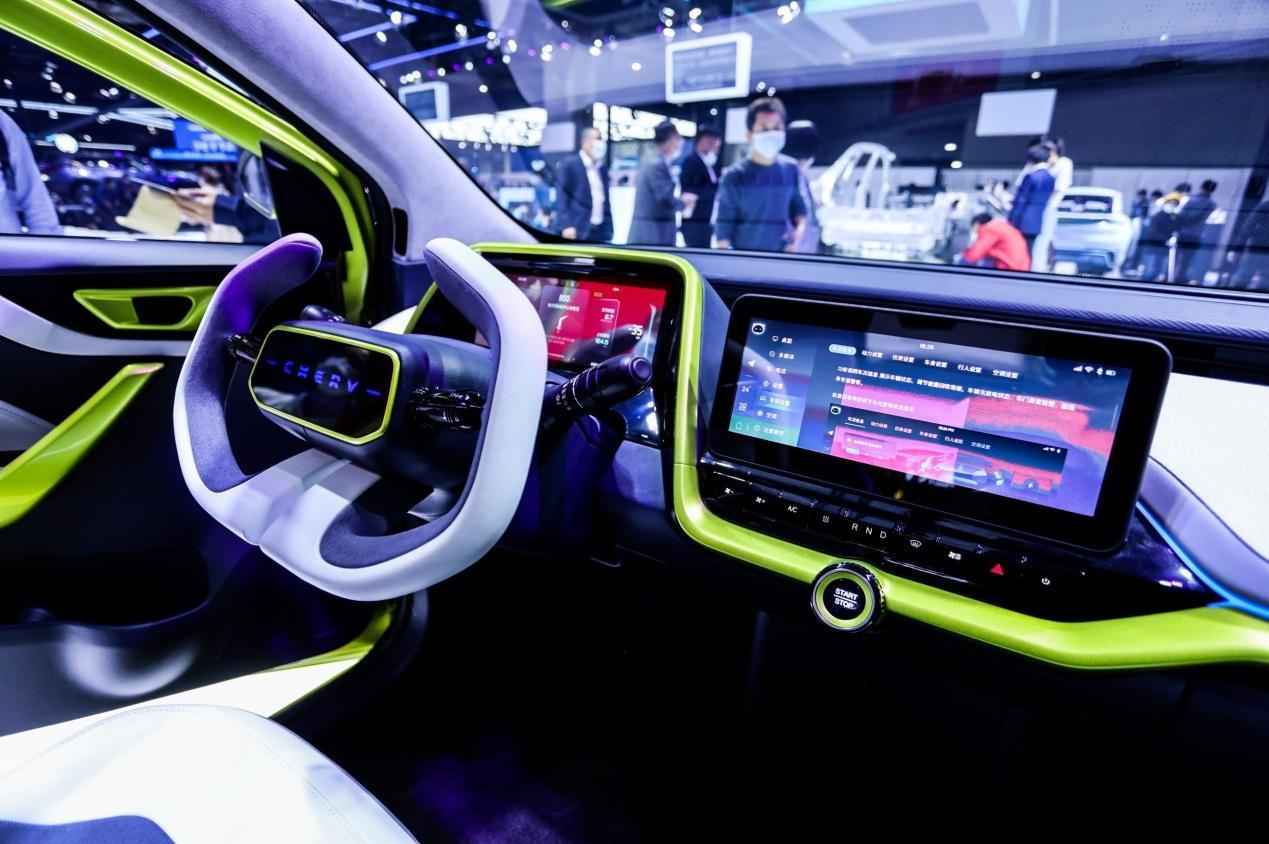 El uso de tecnologías centrales de Chery para interpretar conceptos de viajes futuros