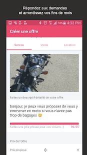 AlloVoisins - location service- screenshot thumbnail