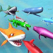 حيوانات البحر تحت الماء مملكة معركة محاكي