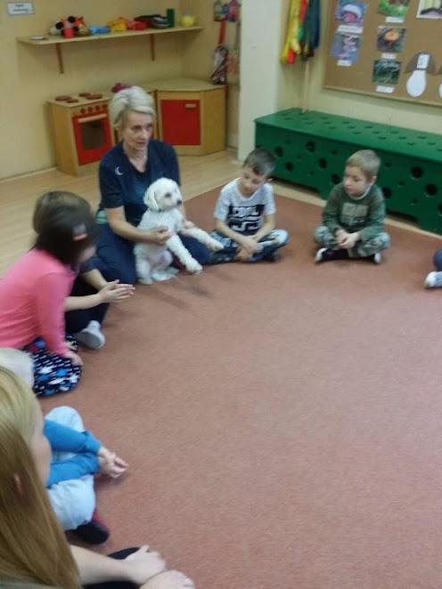 Słoneczka: Spotkanie z pracownikiem schroniska dla zwierząt