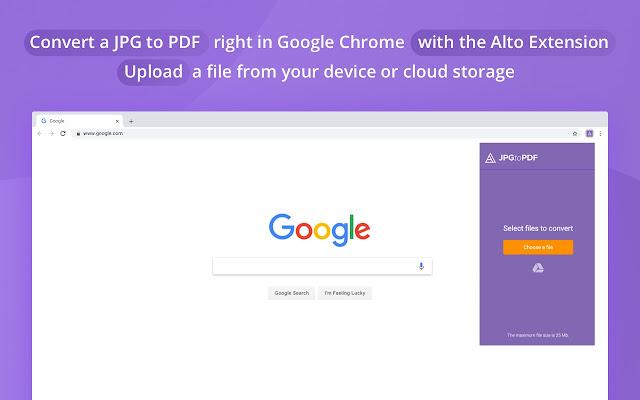 Alto JPG to PDF Converter by PDFfiller