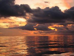 Photo: Coucher de soleil au Costa Rica sur le Pacifique