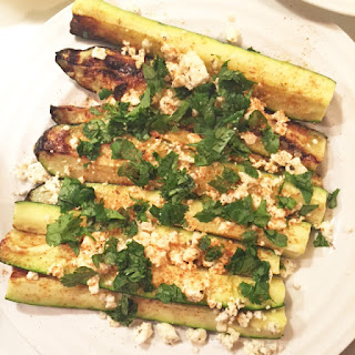 Street Style Grilled Zucchini