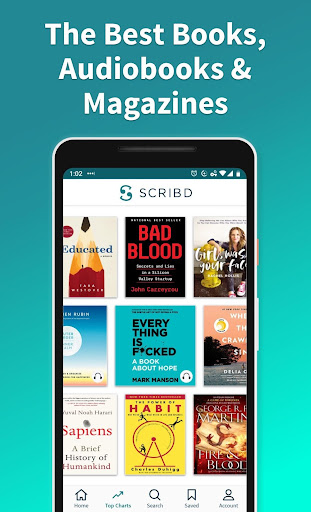 Scribd: Audiobooks & ebooks 9.7.1 screenshots 1