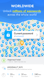 WiFi Map -Adgangskoder Gratis – miniaturescreenshot