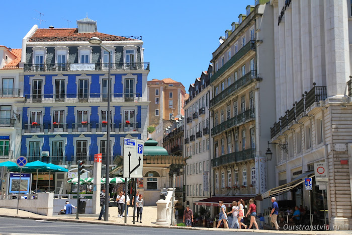 Улица 1 декабря в Лиссабоне