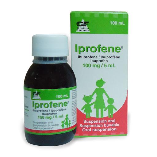 Ibuprofeno + Tiocolchicosido Iprofene 100mg 5ml