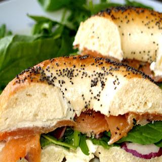 Smoked Salmon Sandwich.