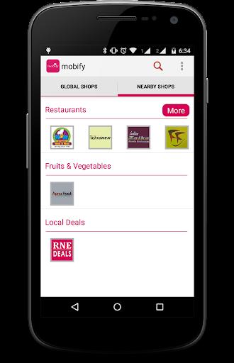 Mobify: Online Shopping