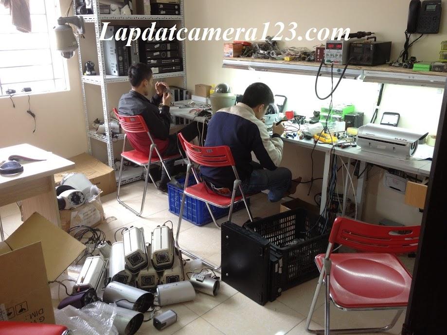 dạy nghề lắp đặt sửa chữa camera
