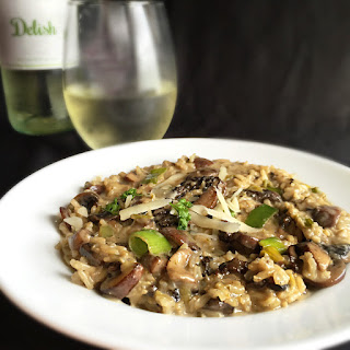 Mushroom, Leek, & Parmesan Basmati Rice