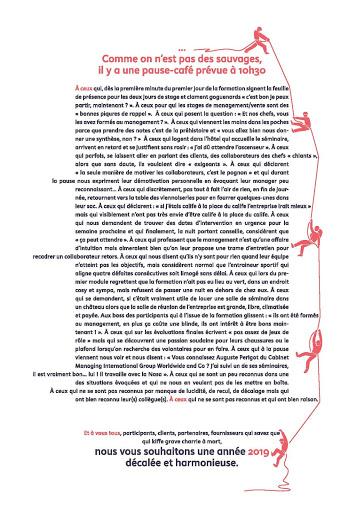 Rémi ARAUD Carte de voeux 2019 premiers de cordée